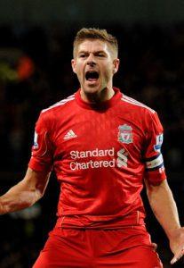 steven gerrard saat masih berkostum Liverpool