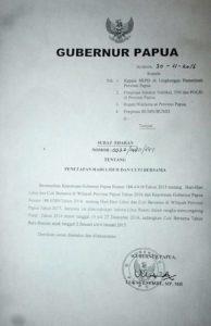 Surat Edaran Gubernur Papua tentang Libur Fakultatif