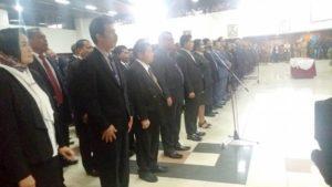 Suasana Pelantikan dan Pengukuhan 1010 pejabat di Pemrpov Papua
