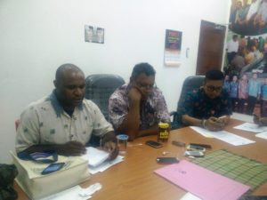 Suasana Keterangan Pers Ombudsman Papua