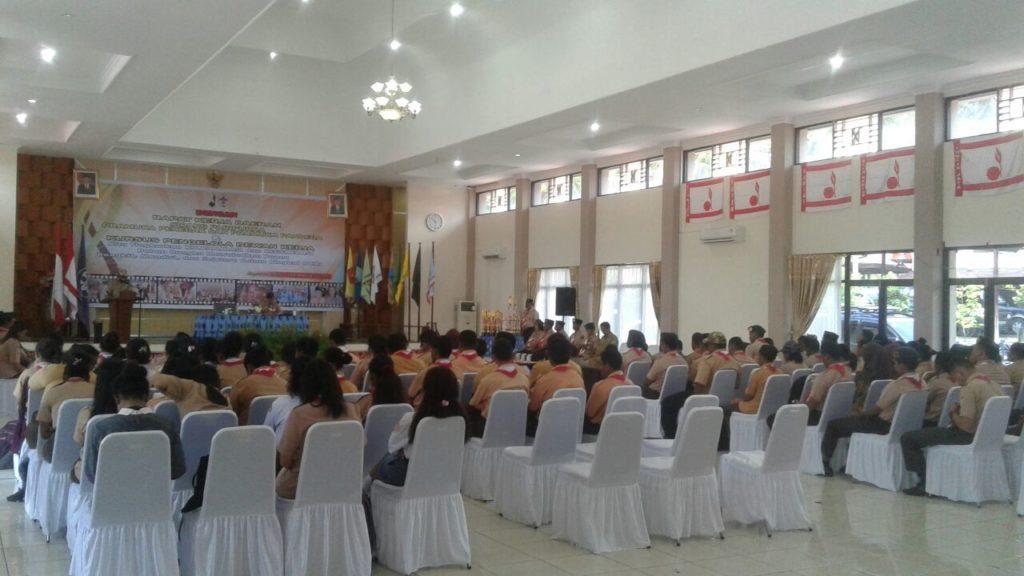 Suasana Rakerda Pramuka Kwarda Papua