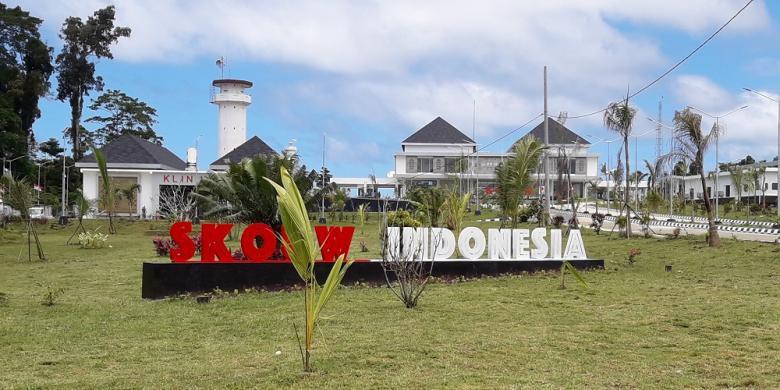 Pos Lintas Batas Negara Skouw di distrik Muara Tami Kota Jayapura (IST)