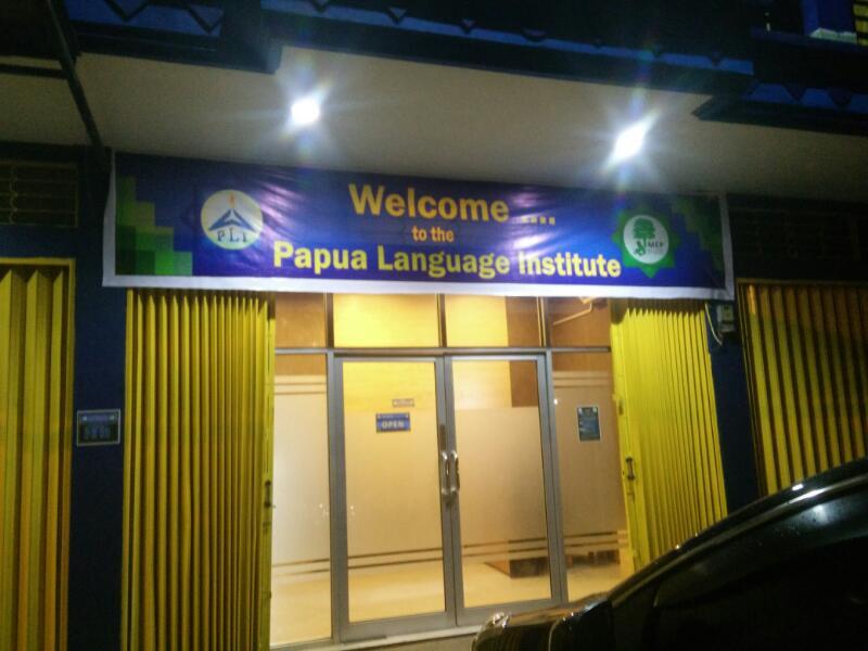 Kantor PLI yang terletak di Jalan Kamp Wolker (depan PLTD) Perumnas II-Waena Jayapura.